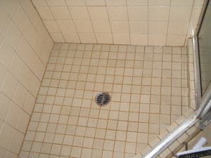 bathroom shower tile cleaning portland after photo