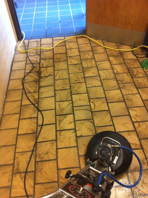commercial tile and grout cleaning portland soil broken up