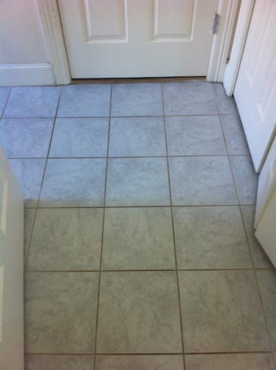 Tile and Grout Cleaning Portland before photo