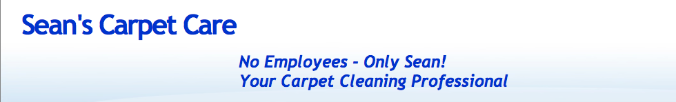 Sean's Carpet Care